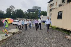 Visit by Hon. CEO to SATIS EAST Project