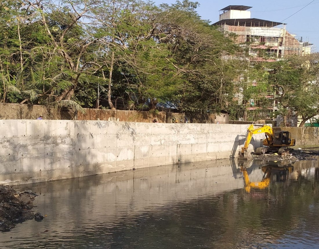 Construction of Strom water drains – 7
